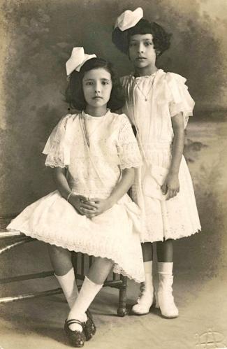 1912 - Maria y Carmen de Granda Vidaud2