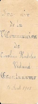 Rodiles Vidaud, Caroline - Reverso