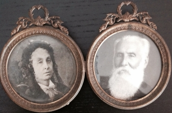 Vidaud du D. de B., Adolphe & Charlotte Caignet