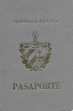 Díaz Esteve, Roberto - Pasaporte Cuba