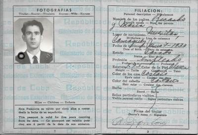 Díaz Montoro, Roberto - Passport